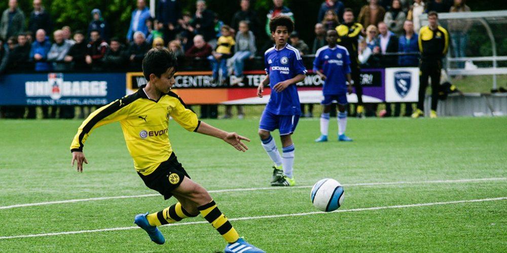 BVB 09 U 13 gegen Chelsea